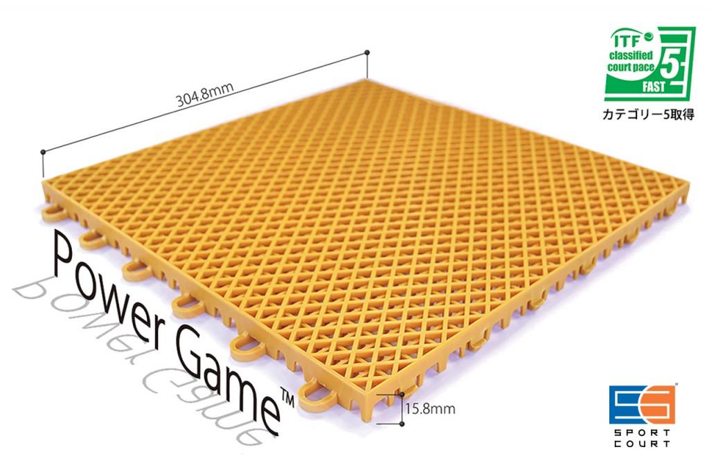 パワーゲーム(カテゴリー5、ロゴ有)