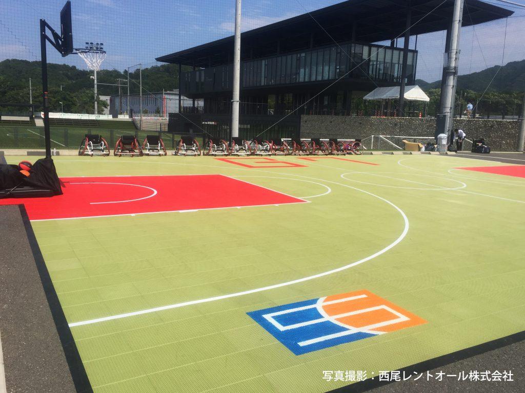 「G7伊勢志摩サミット パラスポーツ体験イベント(スポーツコート撮影)