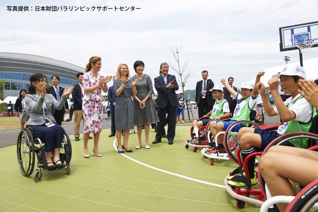 「G7伊勢志摩サミット パラスポーツ体験イベント (5)