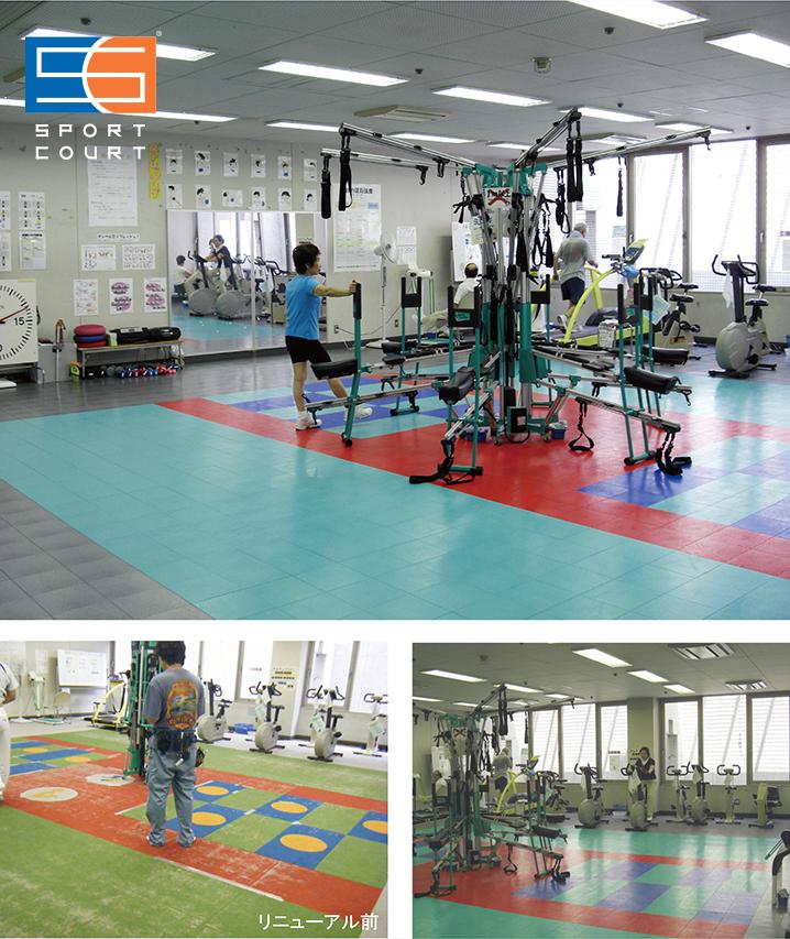 調布市総合体育館 トレーニング室