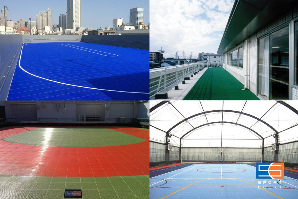 屋上スポーツ施設 改修