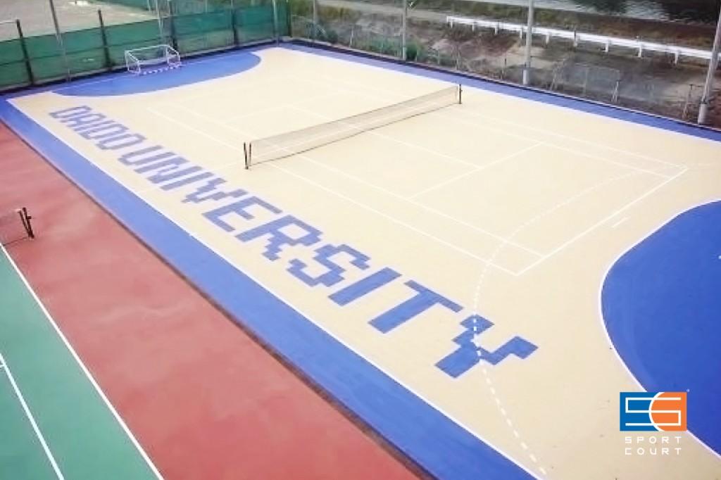 大同大学 テニスコート兼ハンドボールコート