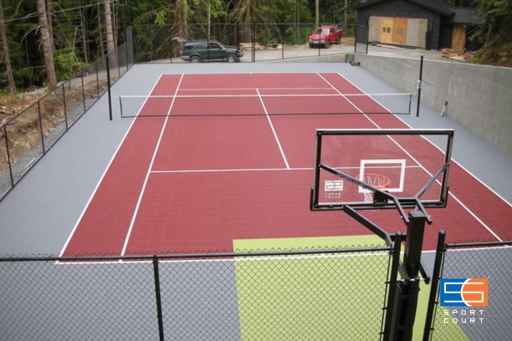 テニスコートデザイン
